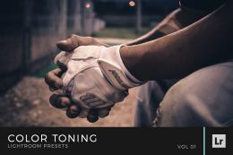 Color Toning Lightroom Presets Volume 1