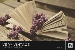 Very Vintage Photoshop Actions Volume 1