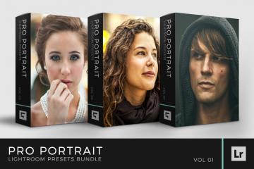 Pro Portrait Lightroom Presets Bundle Volume 1