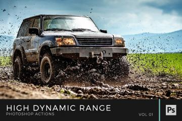 HDR Photoshop Actions Volume 1