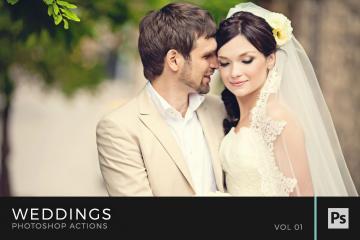 Weddings Photoshop Actions Volume 1