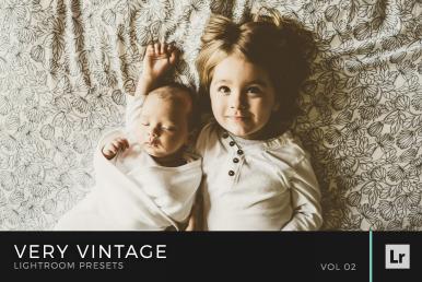 Very Vintage Lightroom Presets Volume 2