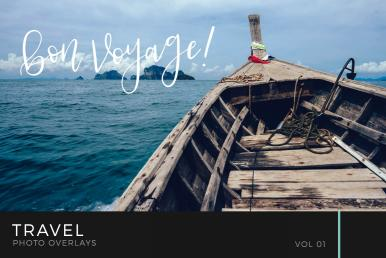 Travel Photo Overlays Volume 1