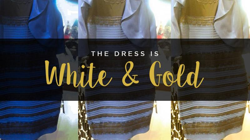 Scientific Proof That The Dress is White and Gold