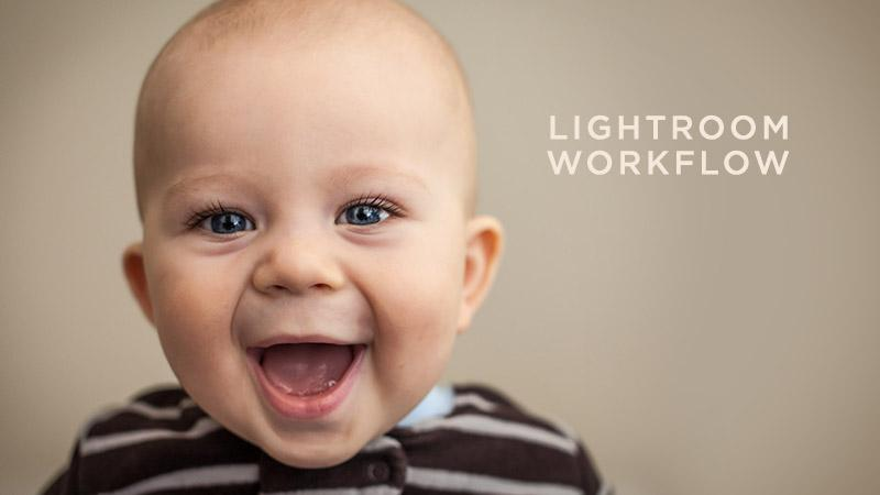 Soft Light Baby Portrait Processing Lightroom Workflow