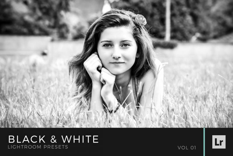 Black & White Lightroom Presets Volume 1