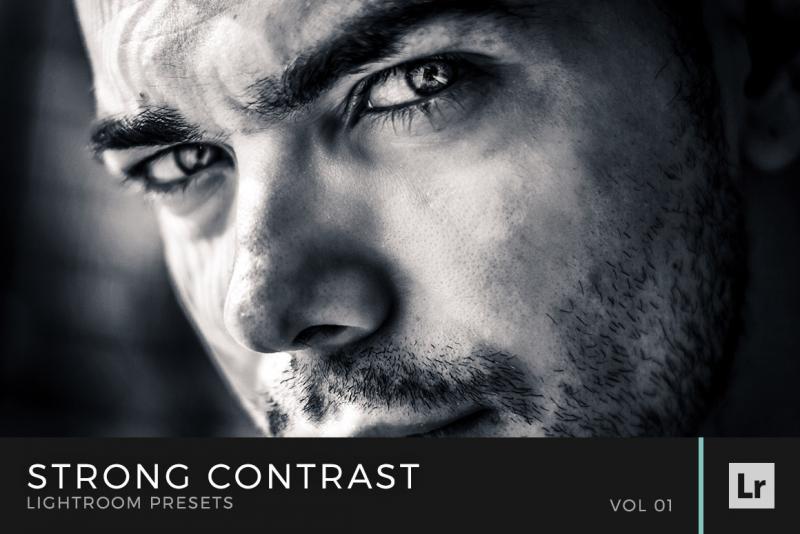 Strong Contrast Lightroom Presets Volume 1