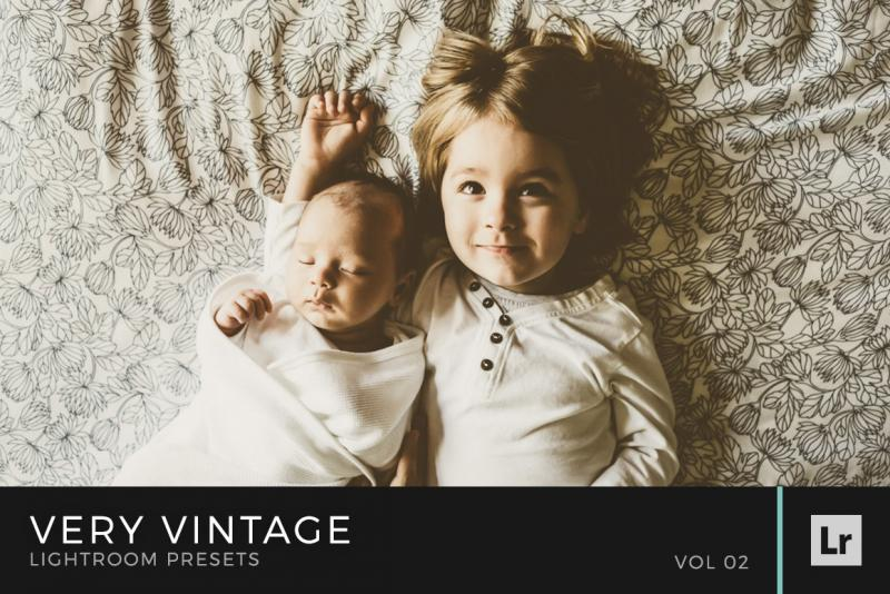 Very Vintage Lightroom Presets Volume 2
