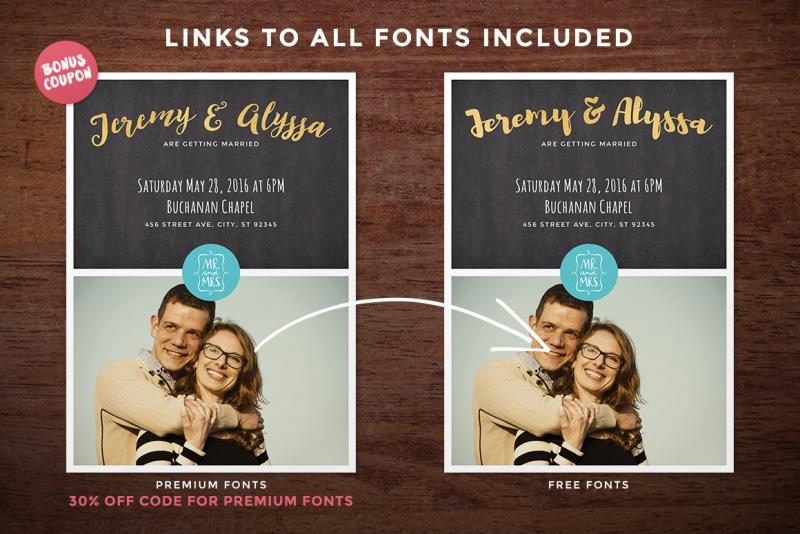 photo collage wedding invitation save the date shuttersweets