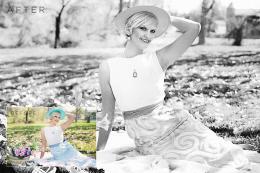 Black & White Photoshop Actions Volume 1