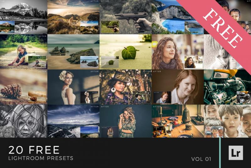 Free Lightroom Presets Volume 1